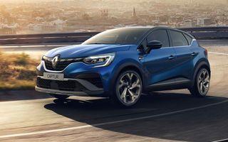 Renault Captur primește nivelul de echipare RS Line