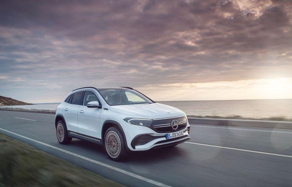 Prețuri Mercedes-Benz EQA în România: cel mai accesibil SUV electric al nemților costă sub 50.000 de euro - Poza 1