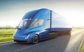 Elon Musk anunță informații despre viitorul camion electric: Tesla Semi va avea o baterie cu capacitatea de 500 kWh
