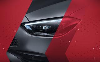 Primele imagini ale noului Mercedes-Benz Clasa C