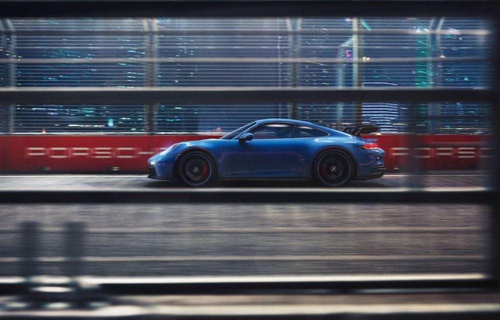 Noul Porsche 911 GT3 este aici: motor de 510 cai putere și apetit pentru circuit - Poza 18