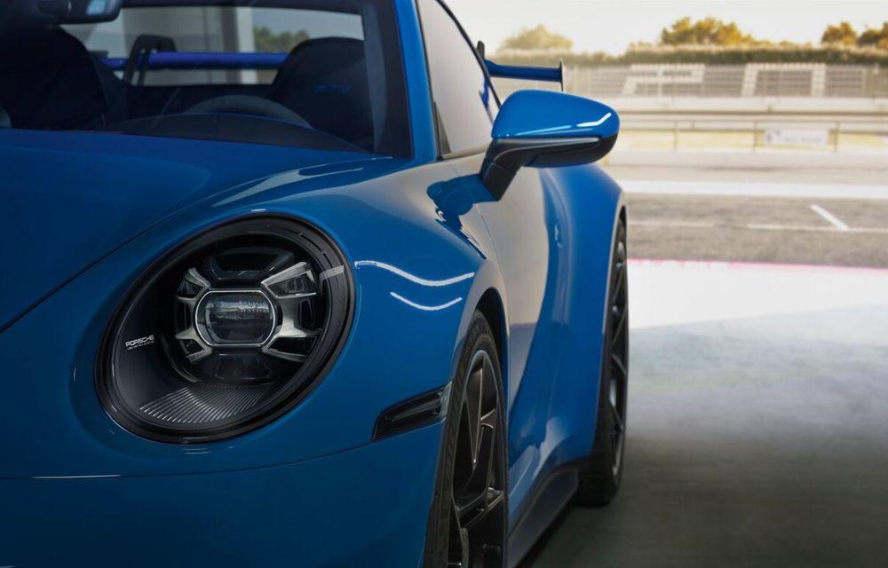 Noul Porsche 911 GT3 este aici: motor de 510 cai putere și apetit pentru circuit - Poza 14
