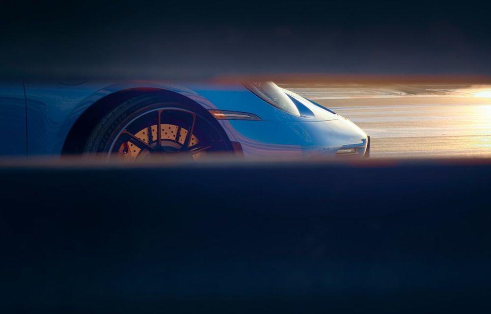 Noul Porsche 911 GT3 este aici: motor de 510 cai putere și apetit pentru circuit - Poza 13