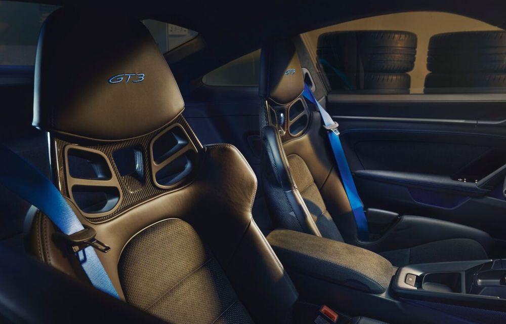 Noul Porsche 911 GT3 este aici: motor de 510 cai putere și apetit pentru circuit - Poza 7