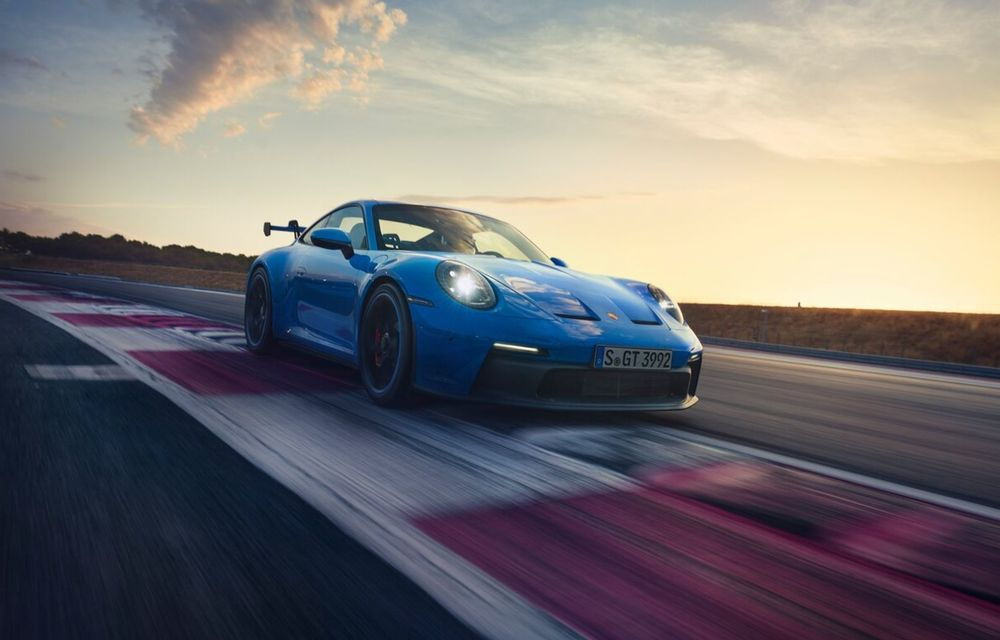 Noul Porsche 911 GT3 este aici: motor de 510 cai putere și apetit pentru circuit - Poza 1