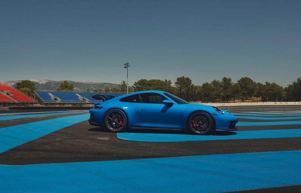 Noul Porsche 911 GT3 este aici: motor de 510 cai putere și apetit pentru circuit - Poza 20