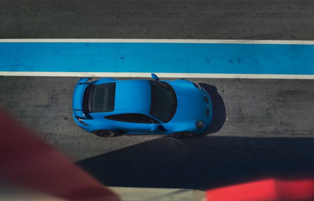 Noul Porsche 911 GT3 este aici: motor de 510 cai putere și apetit pentru circuit - Poza 19
