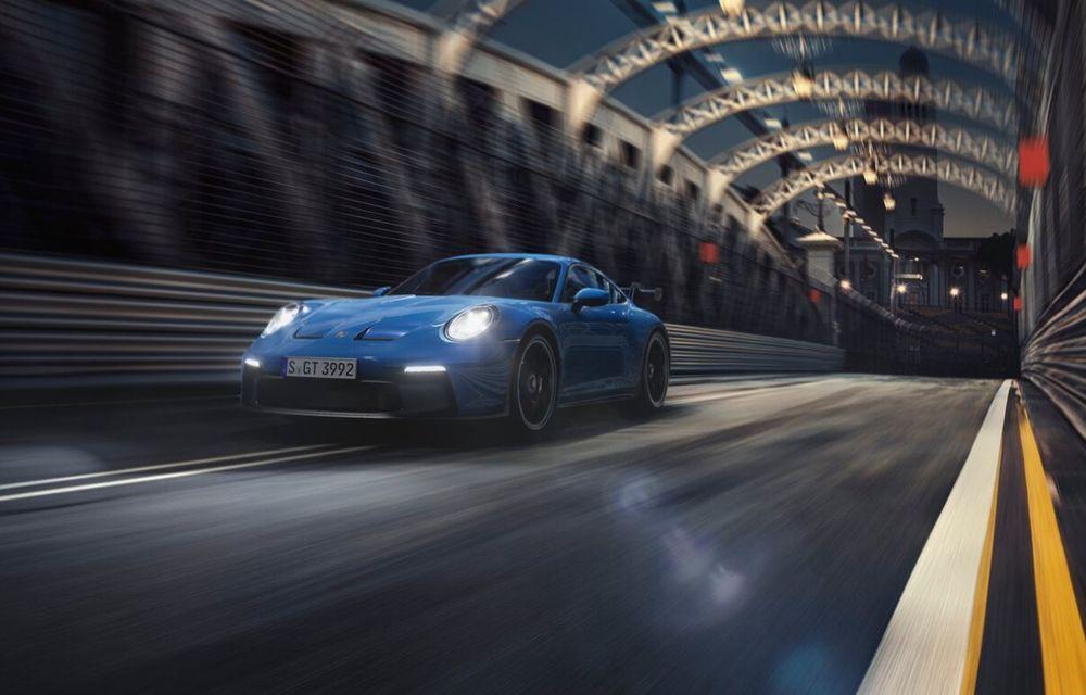 Noul Porsche 911 GT3 este aici: motor de 510 cai putere și apetit pentru circuit - Poza 16