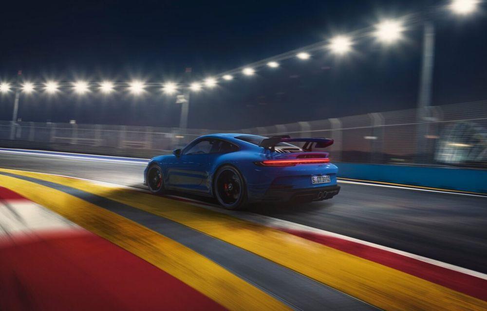 Noul Porsche 911 GT3 este aici: motor de 510 cai putere și apetit pentru circuit - Poza 17