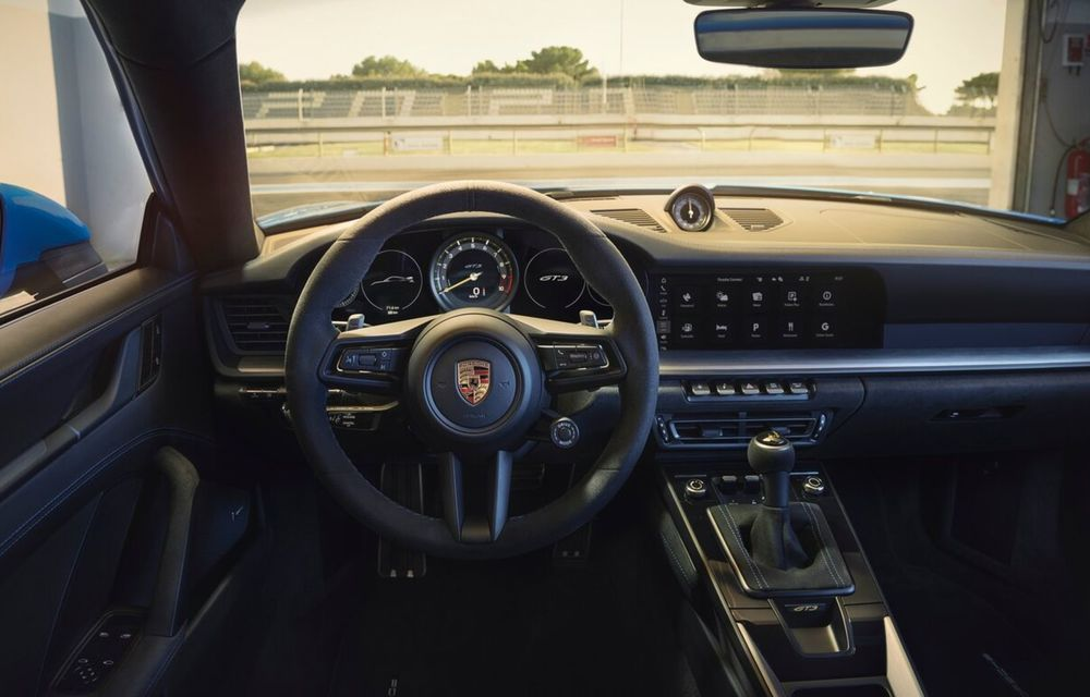Noul Porsche 911 GT3 este aici: motor de 510 cai putere și apetit pentru circuit - Poza 6