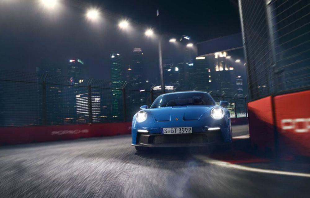 Noul Porsche 911 GT3 este aici: motor de 510 cai putere și apetit pentru circuit - Poza 5