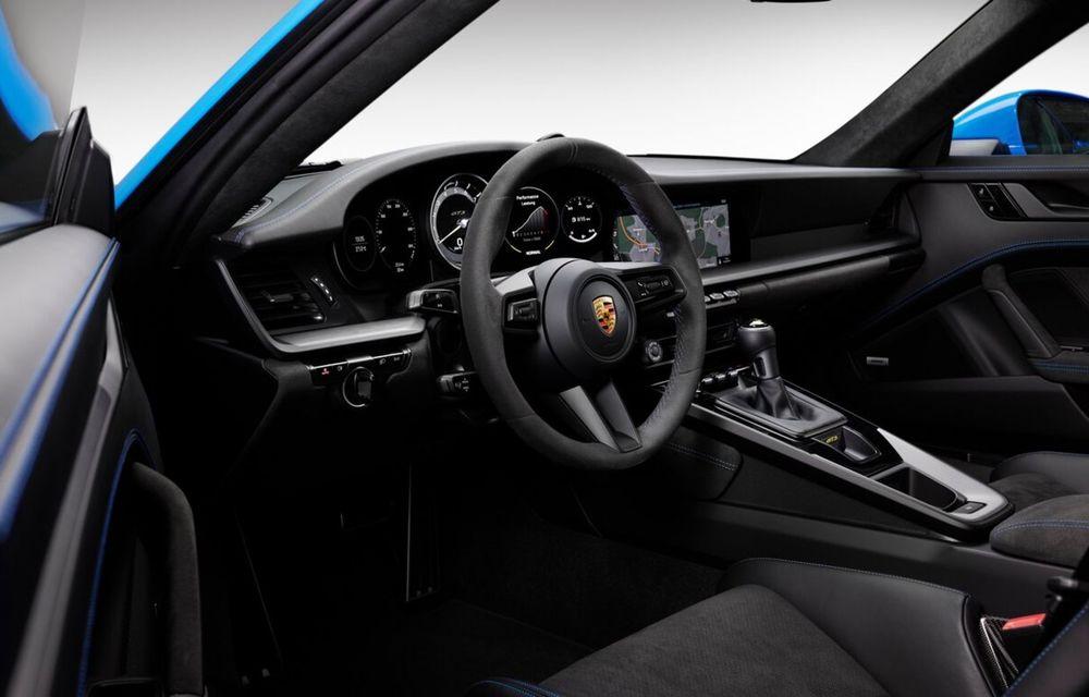 Noul Porsche 911 GT3 este aici: motor de 510 cai putere și apetit pentru circuit - Poza 25