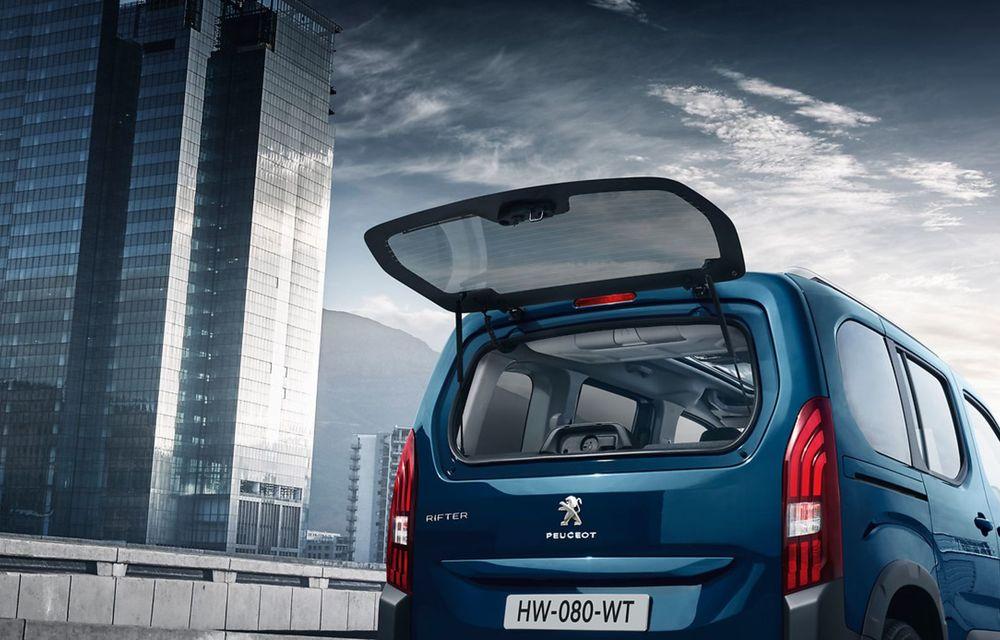 Peugeot lansează noul e-Rifter cu motor de 136 CP și autonomie de 280 de kilometri - Poza 17