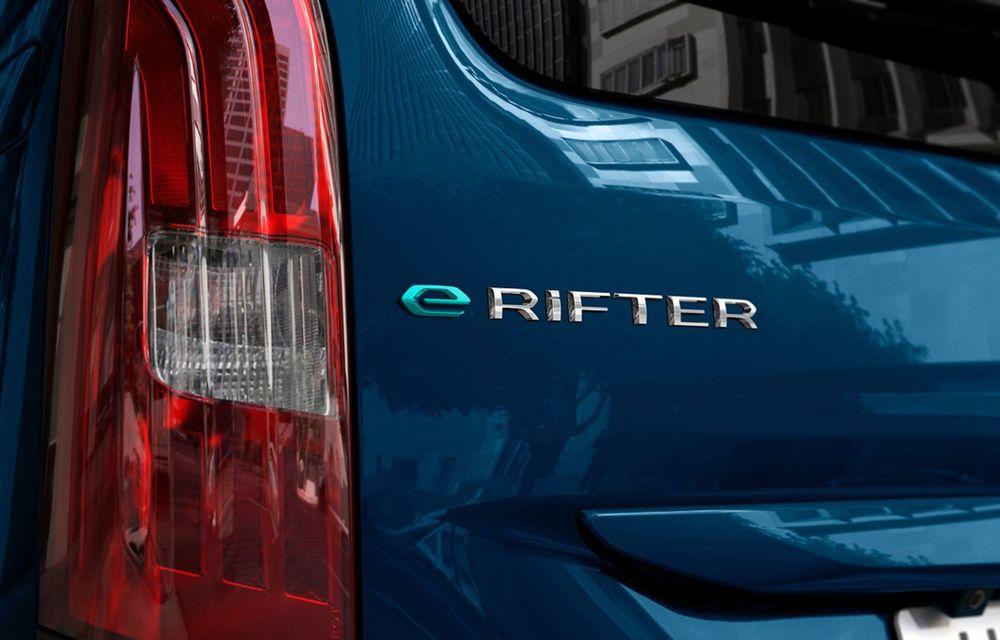 Peugeot lansează noul e-Rifter cu motor de 136 CP și autonomie de 280 de kilometri - Poza 15