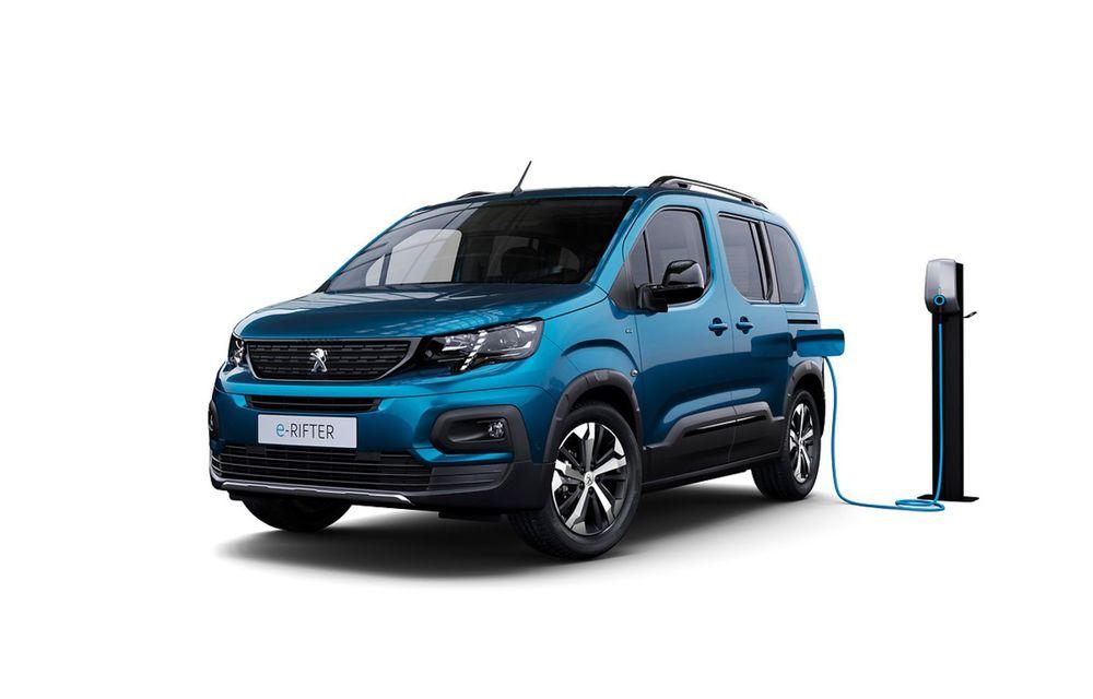 Peugeot lansează noul e-Rifter cu motor de 136 CP și autonomie de 280 de kilometri - Poza 1