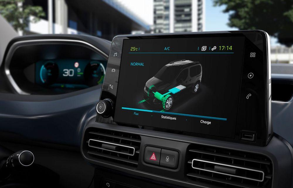 Peugeot lansează noul e-Rifter cu motor de 136 CP și autonomie de 280 de kilometri - Poza 3