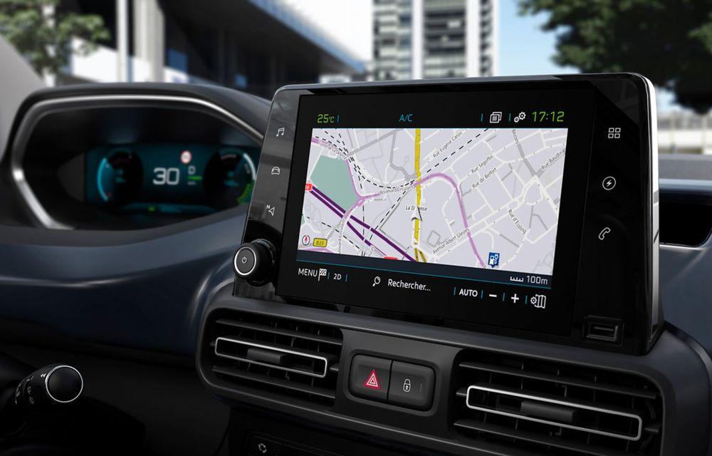 Peugeot lansează noul e-Rifter cu motor de 136 CP și autonomie de 280 de kilometri - Poza 4