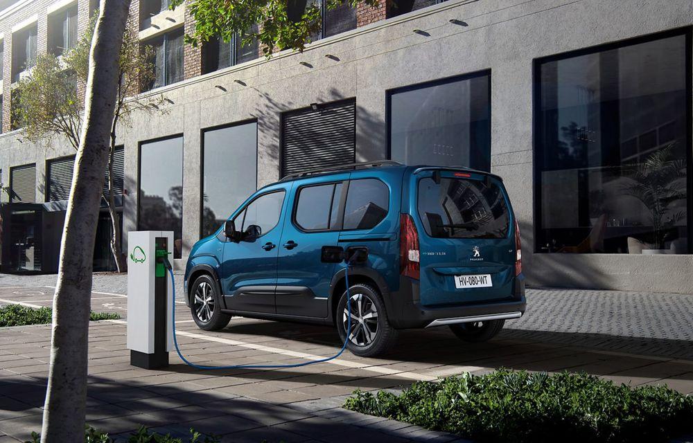 Peugeot lansează noul e-Rifter cu motor de 136 CP și autonomie de 280 de kilometri - Poza 8