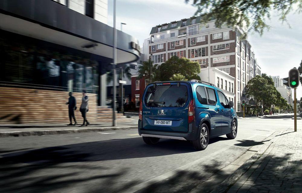 Peugeot lansează noul e-Rifter cu motor de 136 CP și autonomie de 280 de kilometri - Poza 10