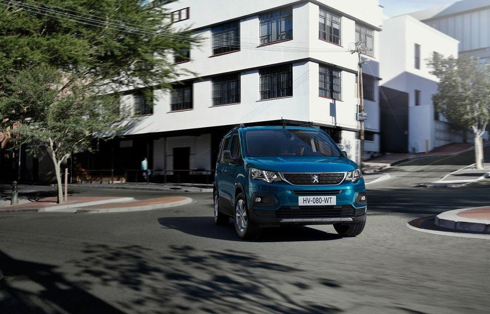 Peugeot lansează noul e-Rifter cu motor de 136 CP și autonomie de 280 de kilometri - Poza 12