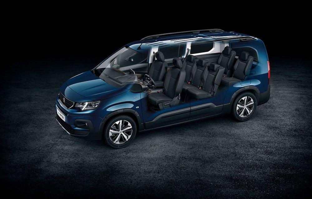 Peugeot lansează noul e-Rifter cu motor de 136 CP și autonomie de 280 de kilometri - Poza 16