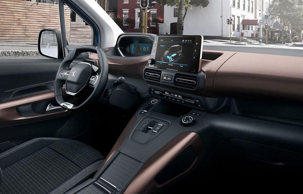 Peugeot lansează noul e-Rifter cu motor de 136 CP și autonomie de 280 de kilometri - Poza 5