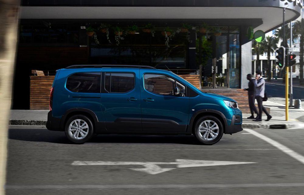 Peugeot lansează noul e-Rifter cu motor de 136 CP și autonomie de 280 de kilometri - Poza 11