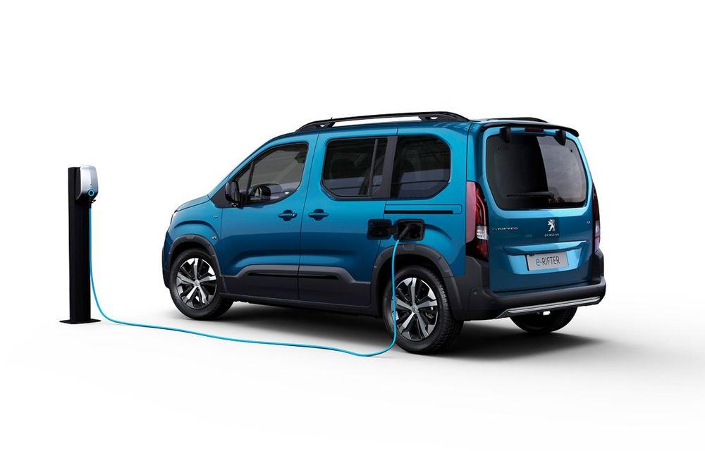 Peugeot lansează noul e-Rifter cu motor de 136 CP și autonomie de 280 de kilometri - Poza 9