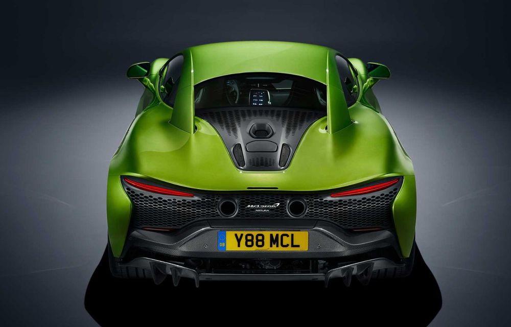 McLaren Artura: cel mai economic model din istoria englezilor vine cu motor hibrid și 671 de cai putere - Poza 16