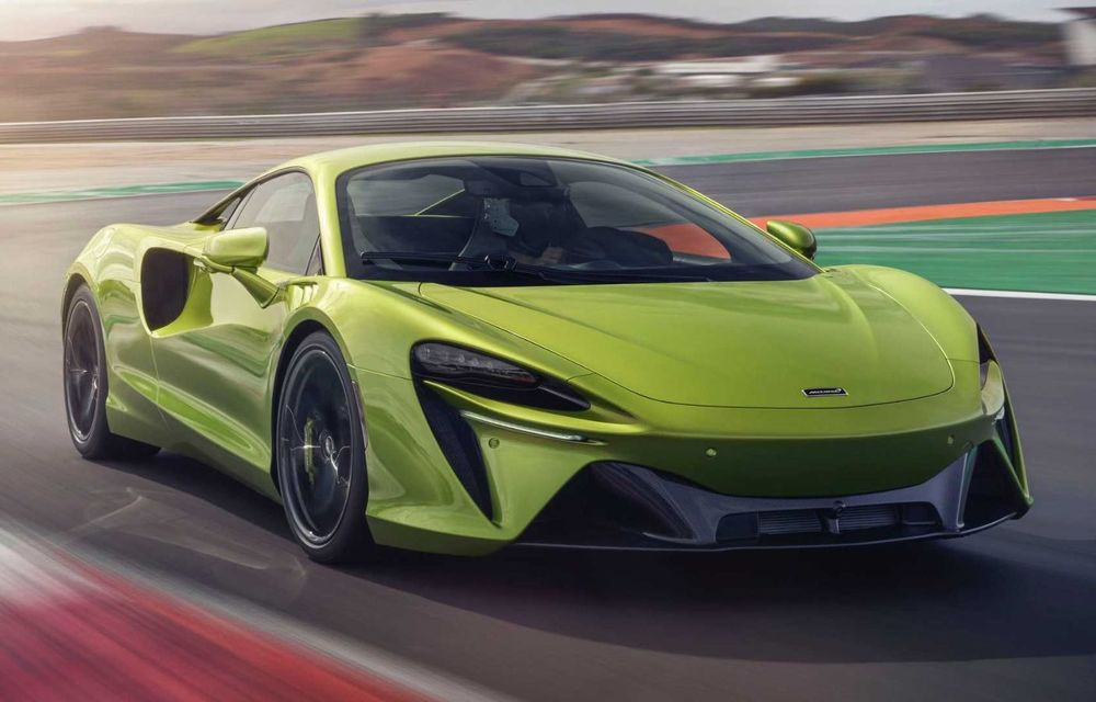 McLaren Artura: cel mai economic model din istoria englezilor vine cu motor hibrid și 671 de cai putere - Poza 11