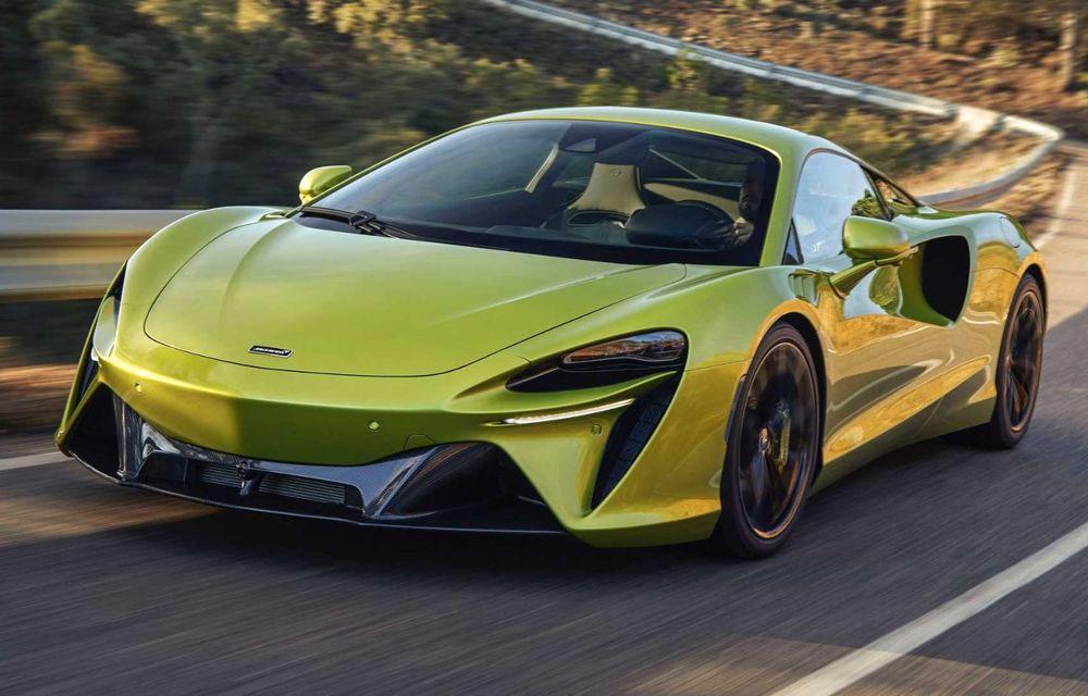 McLaren Artura: cel mai economic model din istoria englezilor vine cu motor hibrid și 671 de cai putere - Poza 10