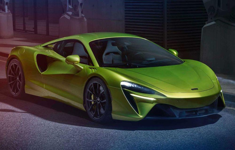 McLaren Artura: cel mai economic model din istoria englezilor vine cu motor hibrid și 671 de cai putere - Poza 6