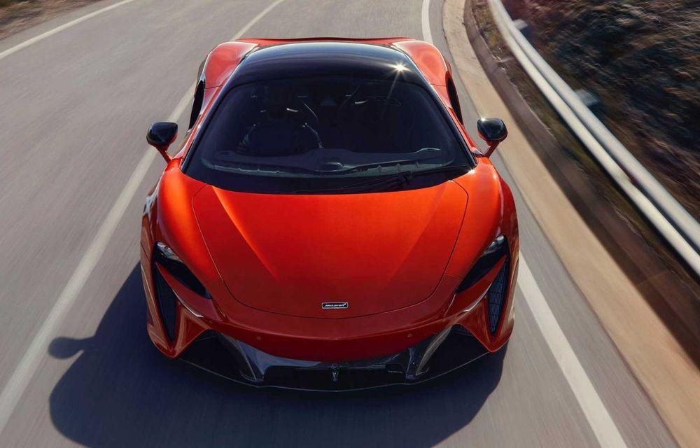 McLaren Artura: cel mai economic model din istoria englezilor vine cu motor hibrid și 671 de cai putere - Poza 35