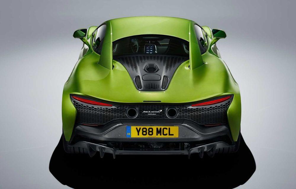 McLaren Artura: cel mai economic model din istoria englezilor vine cu motor hibrid și 671 de cai putere - Poza 17
