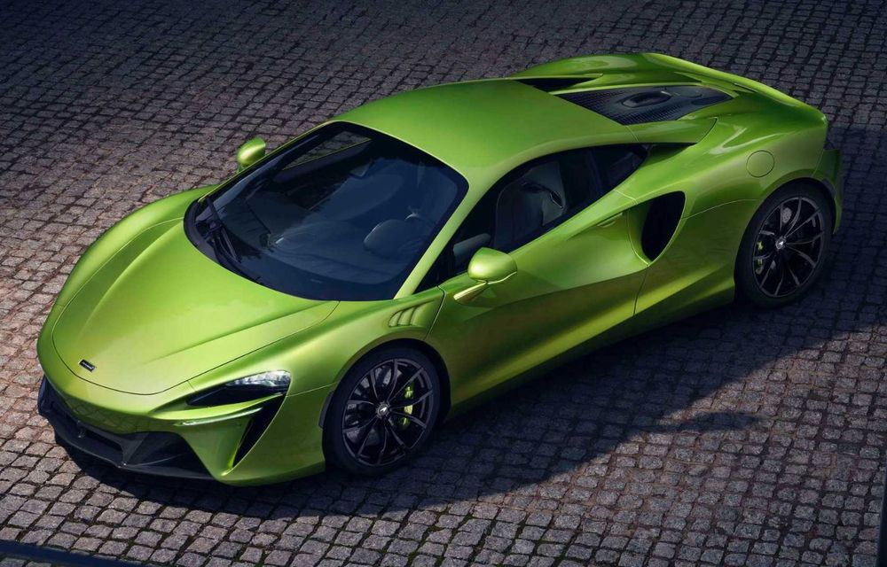 McLaren Artura: cel mai economic model din istoria englezilor vine cu motor hibrid și 671 de cai putere - Poza 3