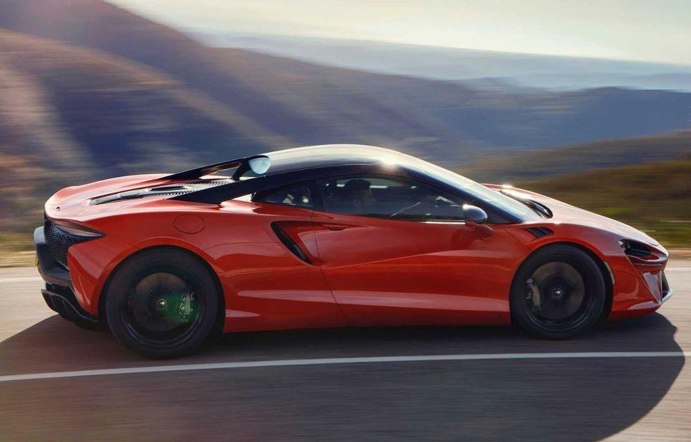 McLaren Artura: cel mai economic model din istoria englezilor vine cu motor hibrid și 671 de cai putere - Poza 33