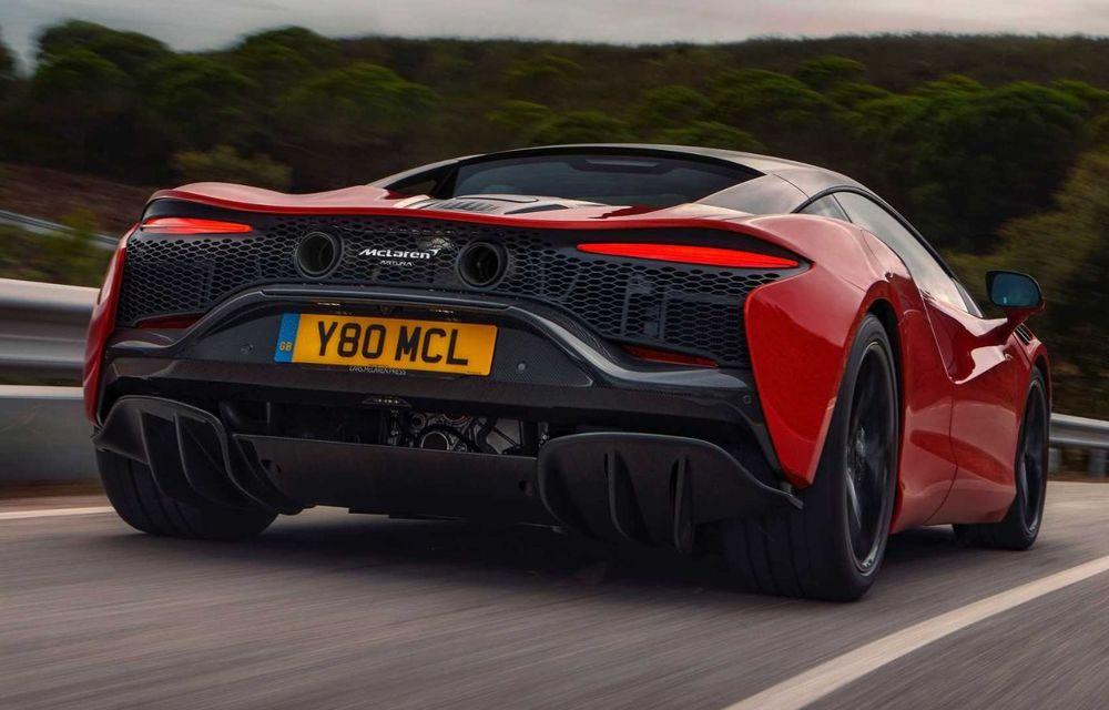 McLaren Artura: cel mai economic model din istoria englezilor vine cu motor hibrid și 671 de cai putere - Poza 28