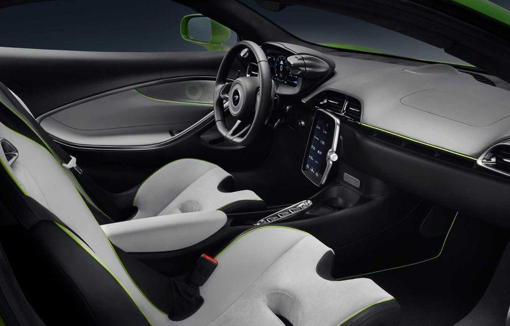 McLaren Artura: cel mai economic model din istoria englezilor vine cu motor hibrid și 671 de cai putere - Poza 24