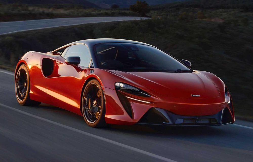 McLaren Artura: cel mai economic model din istoria englezilor vine cu motor hibrid și 671 de cai putere - Poza 36