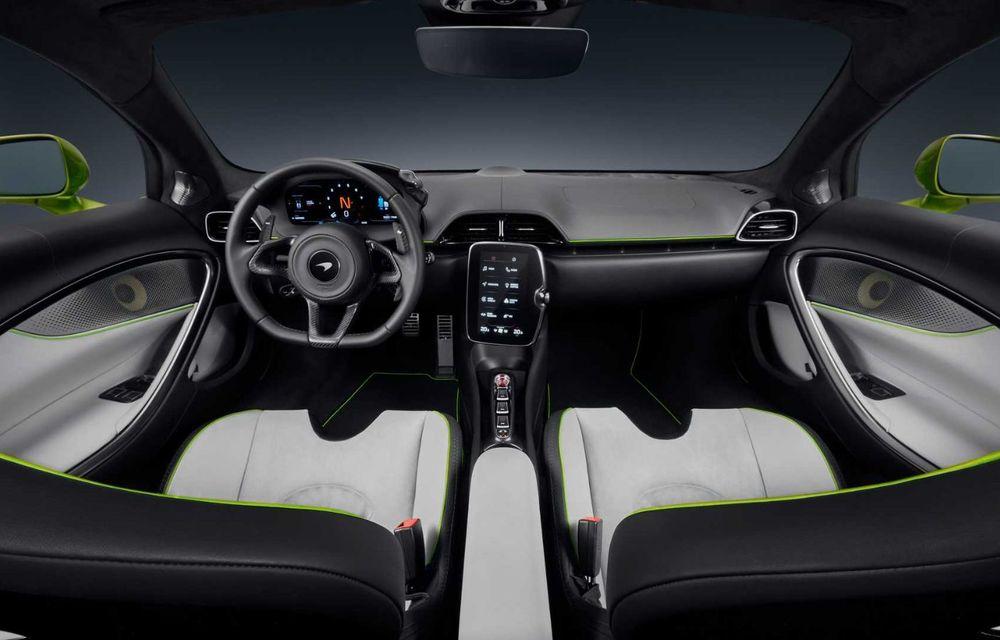 McLaren Artura: cel mai economic model din istoria englezilor vine cu motor hibrid și 671 de cai putere - Poza 23