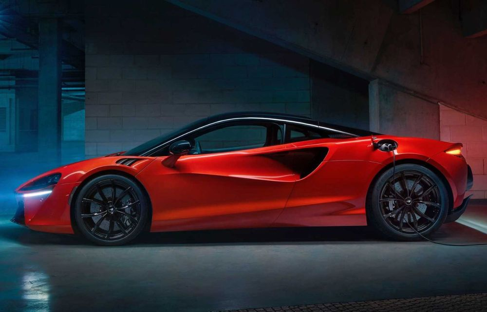 McLaren Artura: cel mai economic model din istoria englezilor vine cu motor hibrid și 671 de cai putere - Poza 29