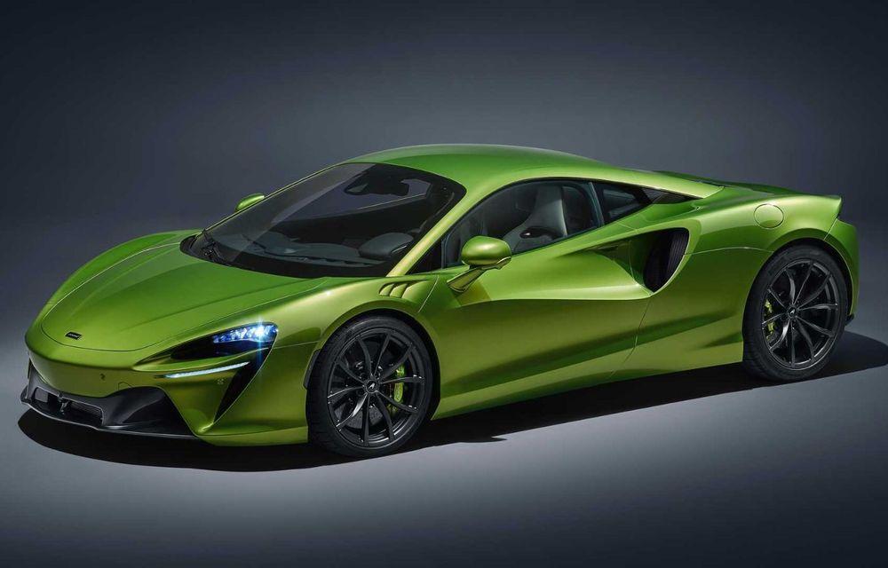 McLaren Artura: cel mai economic model din istoria englezilor vine cu motor hibrid și 671 de cai putere - Poza 12