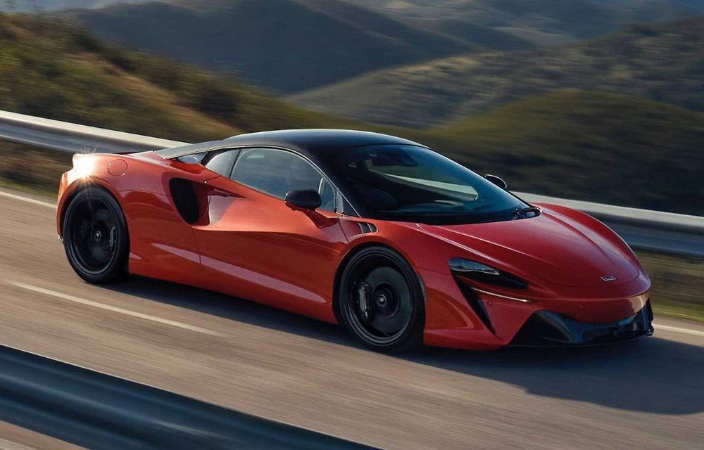 McLaren Artura: cel mai economic model din istoria englezilor vine cu motor hibrid și 671 de cai putere - Poza 27