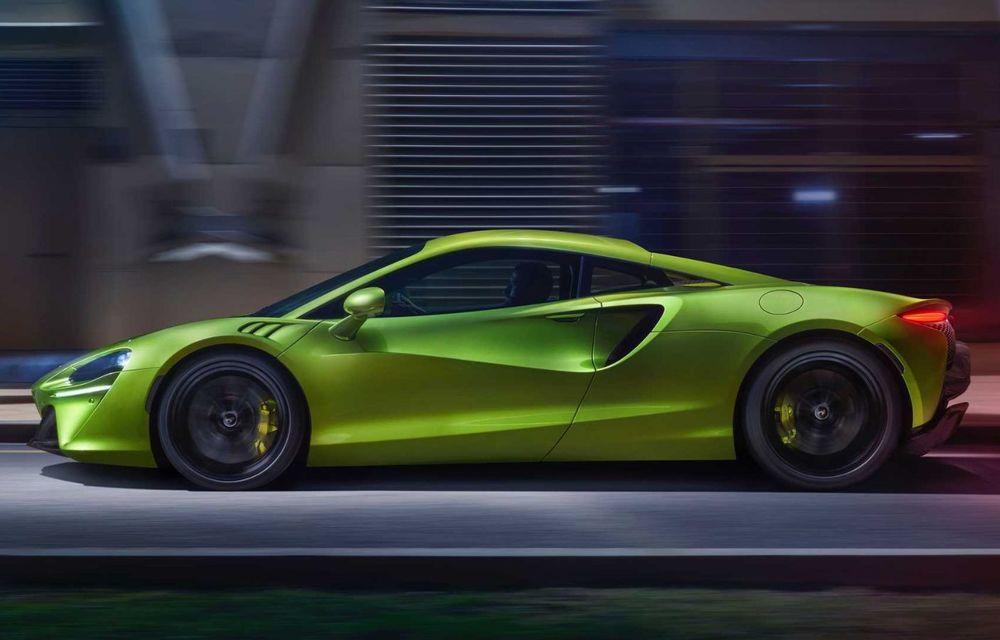 McLaren Artura: cel mai economic model din istoria englezilor vine cu motor hibrid și 671 de cai putere - Poza 5