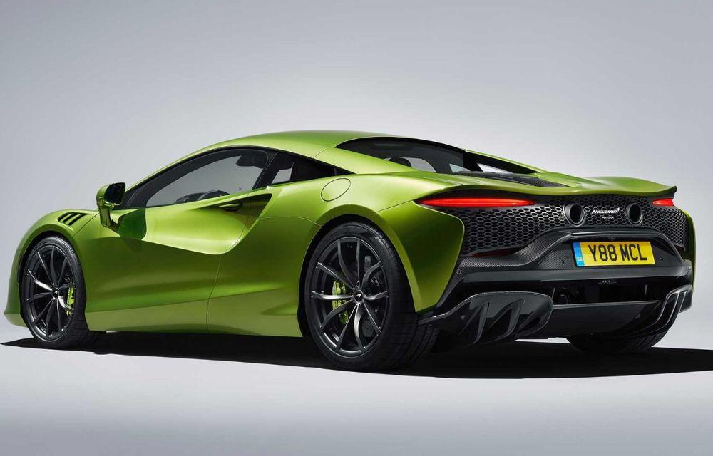 McLaren Artura: cel mai economic model din istoria englezilor vine cu motor hibrid și 671 de cai putere - Poza 19