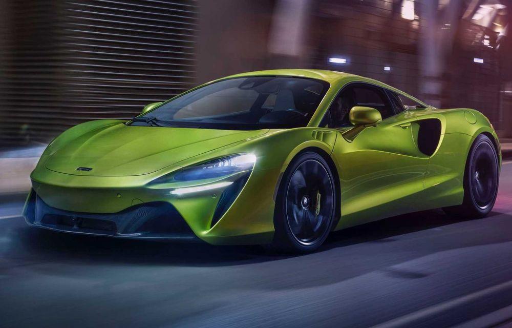 McLaren Artura: cel mai economic model din istoria englezilor vine cu motor hibrid și 671 de cai putere - Poza 4