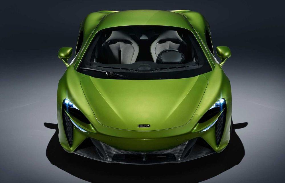 McLaren Artura: cel mai economic model din istoria englezilor vine cu motor hibrid și 671 de cai putere - Poza 14