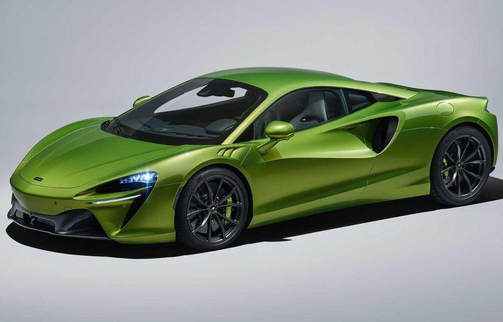 McLaren Artura: cel mai economic model din istoria englezilor vine cu motor hibrid și 671 de cai putere - Poza 13