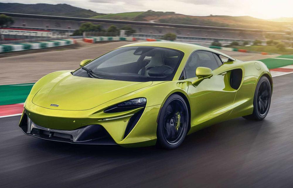 McLaren Artura: cel mai economic model din istoria englezilor vine cu motor hibrid și 671 de cai putere - Poza 1