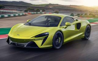 McLaren Artura: cel mai economic model din istoria englezilor vine cu motor hibrid și 671 de cai putere